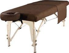 Master Massage Table Universal Natural Cotton Flannel Sheet set 3pcs, Chocolate