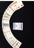 Invisible Deck Better Grip with Smoother Slip BLUE Bicycle Cards  Magic Trick