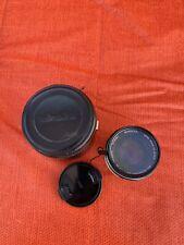 Minolta MC Rokkor PF 1:14 f=58mm Camera Lens - Toyo Optics Skylight 55mm