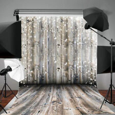 Floor Wall Backgrounds Wood Vinly Dreamy Props Studio Photography Backdrops Grey