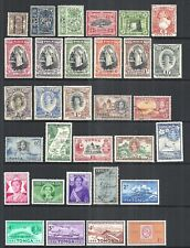 TONGA      VARIOUS MINT & USED ISSUES           1894 to 1961         CV $32.50
