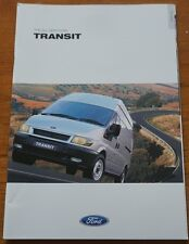 Ford Transit Brochure February 2002