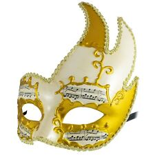 GOLD Venetian MASQUERADE Swan MASK | Venetian Phantom Ball Mask | Fancy Dress