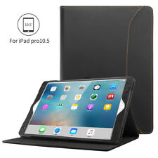 """For iPad Pro 10.5"""" Genuine Leather Case Stand Cover with Bluetooth Keyboard"""