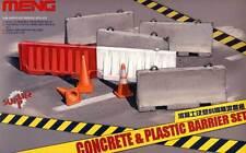 Meng Beton Barrieren Straßensperren Autobahn Concrete Barriers mit Gießform 1:35