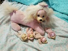 Vintage Hasbro White Pink Puppy Surprise With 4 Puppies