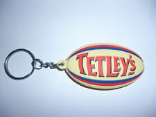 PROMOTIONAL TETLEYS BREWERY RUGBY BALL KEY RING.