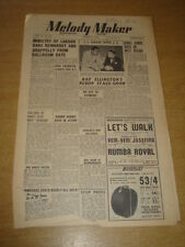 MELODY MAKER 1948 MARCH 27 MINISTRY OF LABOUR JOE LOUIS JOE LOSS JAMBOREE +