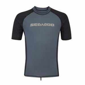 Sea-Doo Men's Signature Short Sleeve Rashguard
