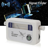 Mini DVB-T Signal Strength Meter Finder Digital Aerial TV Antenna UK Stock