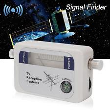 Mini DVB-T Finder Digital Aerial TV Antenna Signal Strength Meter UK Stock