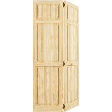 Closet Door, Bi Fold, Kimberly Bay® Traditional Six Panel Clear
