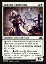 MTG Magic EMN - (x4) Desperate Sentry/Sentinelle désespérée, French/VF