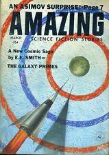 Amazing Stories March 1959 E.E. Smith The Galaxy Primes