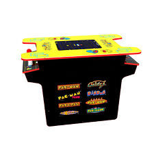 Arcade1Up - Deluxe 8-in-1 Head to Head Cocktail Table with Pac-Man, Galaga & Mor