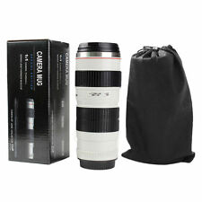 400ML Coffee Cup For USM Thermos Camera Lens 70-200mm F2.8 Stainless Mug Gift