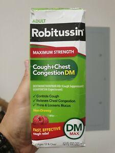 Robitussin Maximum Strength DM Cough+Chest Congestion Value Pack 12oz