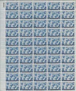 US Stamp 1945 US Navy - 50 Stamp Sheet #935
