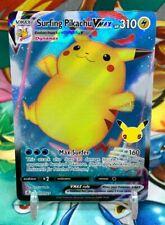 Surfing Pikachu VMax 009/025  Pokemon Card Celebrations 25th Anniversary M-NM