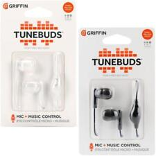 Griffin Technology TuneBuds In-Ear Headphones/Hands Free Headset - White / Black