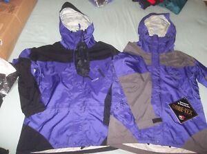 Marmot Thunderlight Jacket 3 Ply Alpinist Gore-tex Parka Lightweight Coat Sm/Med
