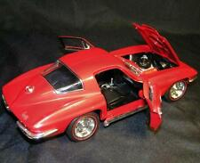 Ertl 1967 Corvette Sting Ray  Red diecast model 1/18 Car
