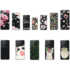 Fashion Petal Soft Silicone TPU Skin Case Phone Back Cover For Samsung Galaxy S8