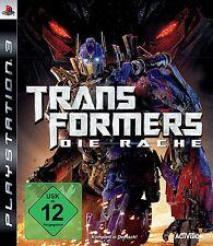 Transformers - Die Rache für Playstation 3 PS3 | NEUWARE | Komplett in Deutsch!