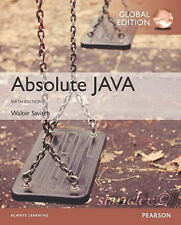 NEW 3 Days Fast to US Absolute Java 6E Walter Savitch, Kenrick Mock 6th Edition