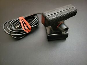 Ufficiale OEM Nero Sony PLAYSTATION 3 PS3 Fotocamera USB Con Mount Clip VG Cond