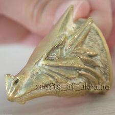 RARE Knife Making Pommel DRAGON Handmade Knives Bolsters Solid Bronze