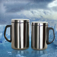 Travel Coffee Mug Cup Stainless Steel Insulated Large Portable 350/500ml 1x