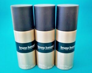 Bruno Banani MAN Deo Spray Deodorant  3 x 150 ml