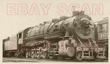 8F602 RP 1938 O&W ONTARIO & WESTERN RAILROAD 2-10-2 LOCO #357 MIDDLETOWN NY