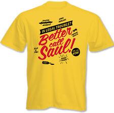 BETTER CALL SAUL - Breaking Bad TV Girar Sin Mangas Hombres Camiseta Divertida