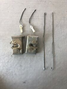 "VW MK1 Rabbit ""Caddy"" Pickup LX Oem L+R Door Latch Kit OEM"