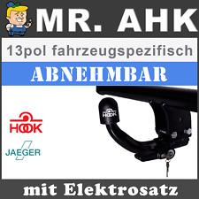 HOOK Mercedes C-Klasse W204 07-14 AHK Anhängerkupplung abnehmbar 13pol spe ESatz
