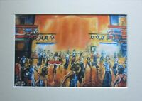 Wigan Casino; Northern Soul; Northern Soul Art; Golden World Mounted Print