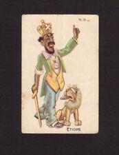 Haile Selassie Ethiopia Rare 1930s Romani Romolo Card Italy #15