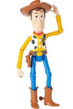 """**Disney Toy Story Woody Figure, 7"""" Iconic Design, Bright Colors, Posable**"""