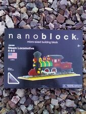 KAWADA Nanoblock Steam Locomotive 4-4-0   NBA_007