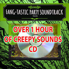 1 HOUR CREEPY HORROR HALLOWEEN PARTY EFFECTS SOUNDS CD SPOOKY HOUSE SCARY SCREAM