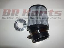 Briggs 5HP Flat head Air Filter, and Filter Adapter, Go Kart Racing