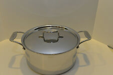 All Clad d5 Stainless 8 Qt STOCK POT w/ LID - 5 Ply Stainless