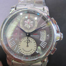 MONTBLANC GMT MEN'S WATCH AUTOMATIC ALL S/S SAPPHIRE ORIGINAL SWISS X003P1X NEW