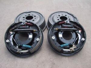"9"" Ford Bolt-On 11"" Drum Brake Kit - 9 Inch - Big Ford"
