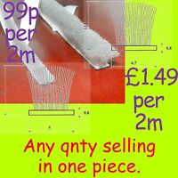 Draught Excluder Brush Pile/seal 6.7 x 12 5 x 5mm bumper anti dust self adhesive