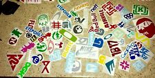 SALE Skateboard Snowboard Moto X Surf Decal Sticker Lot Random 12 Pack