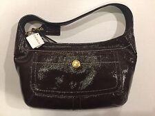 NWT COACH 11623 B4/BR Ergo Patent Leather Hobo Tote HANDBAG MSRP $348