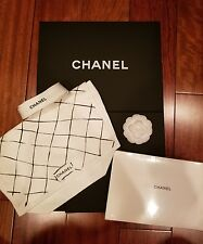 ~* NEW Chanel Classic Medium Box w/ Ribbon, Flower, book, and dust bag set *~